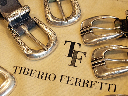 ティベリオ・フェレッティ/TIBERIO FERRETTIのベルト